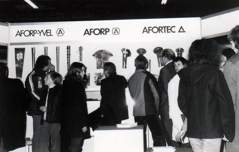 Les débuts d'AFORP-Yvel, en 1975. (archives AFORP)