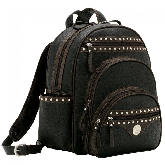 Bandana by American West Lake Tahoe Back Pack - Black at Viomart.com