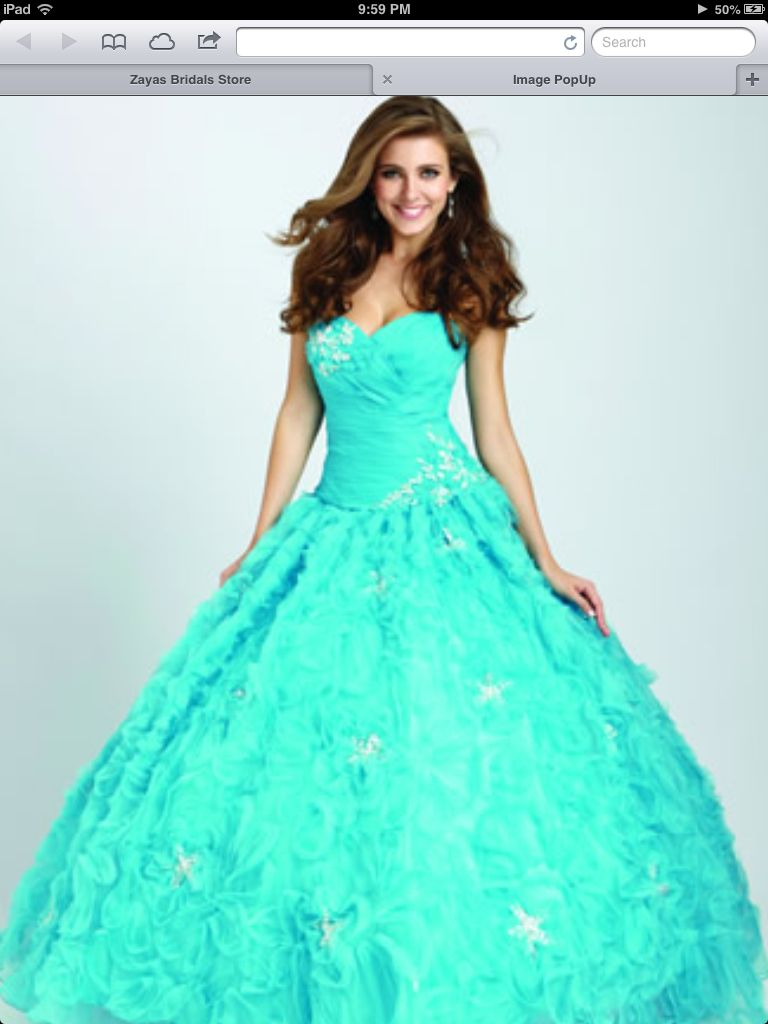 Cute Quinceañera Dress!