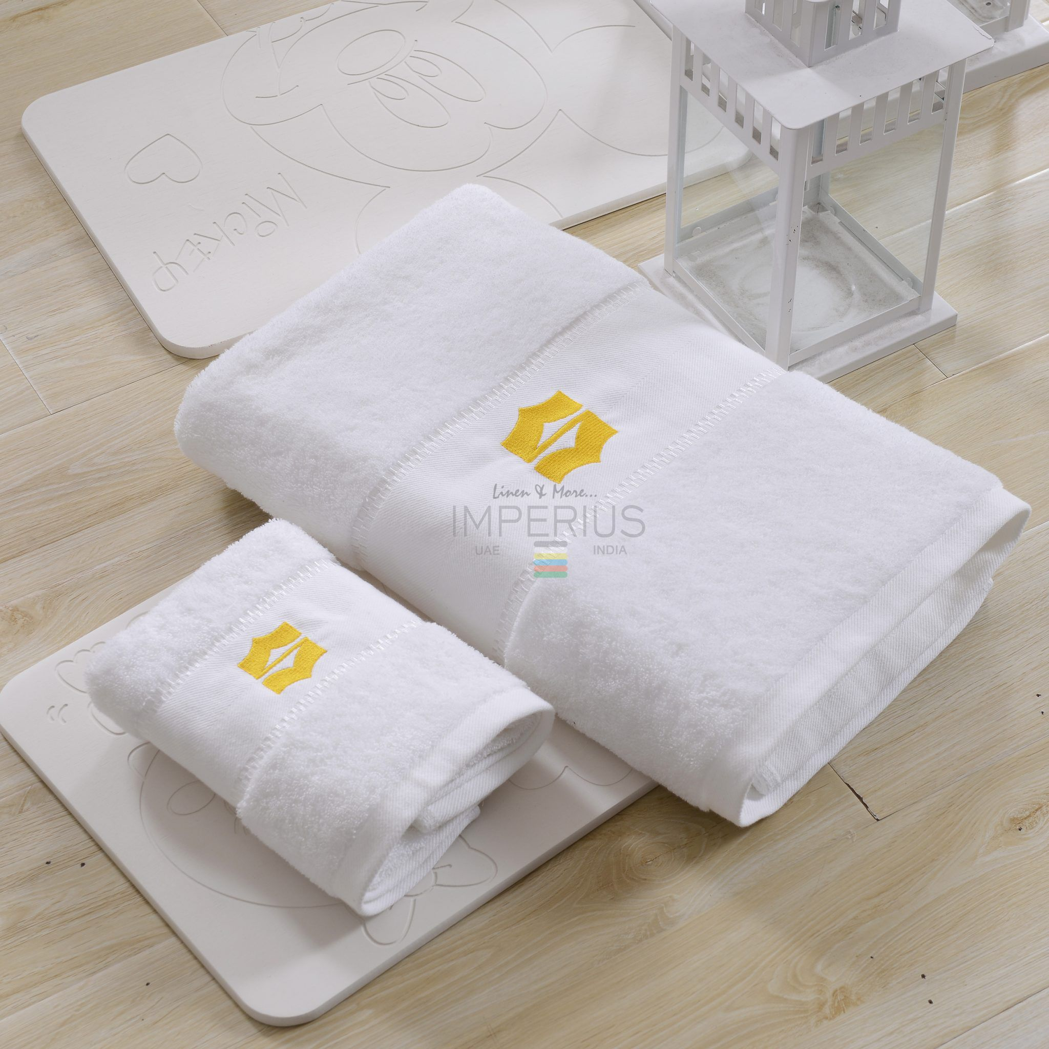 Shop combed cotton bath towel for your hotel from Imperius