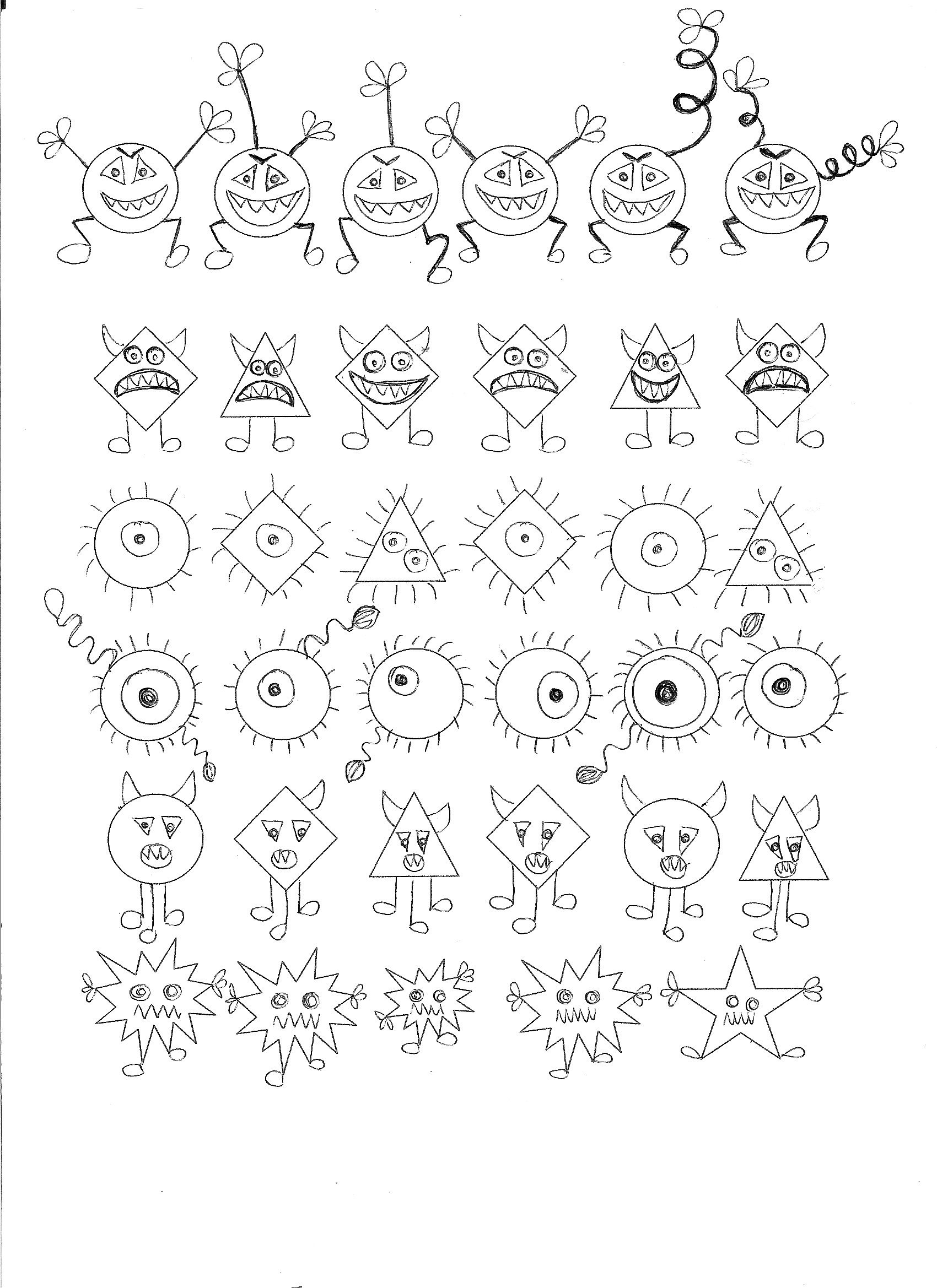 Germ Theme Math Activity Find The Germ That Doesn T Belong To The Row 6 7 Years Kindergarten Worksheets Printable Kindergarten Worksheets Math Activities [ 2338 x 1700 Pixel ]