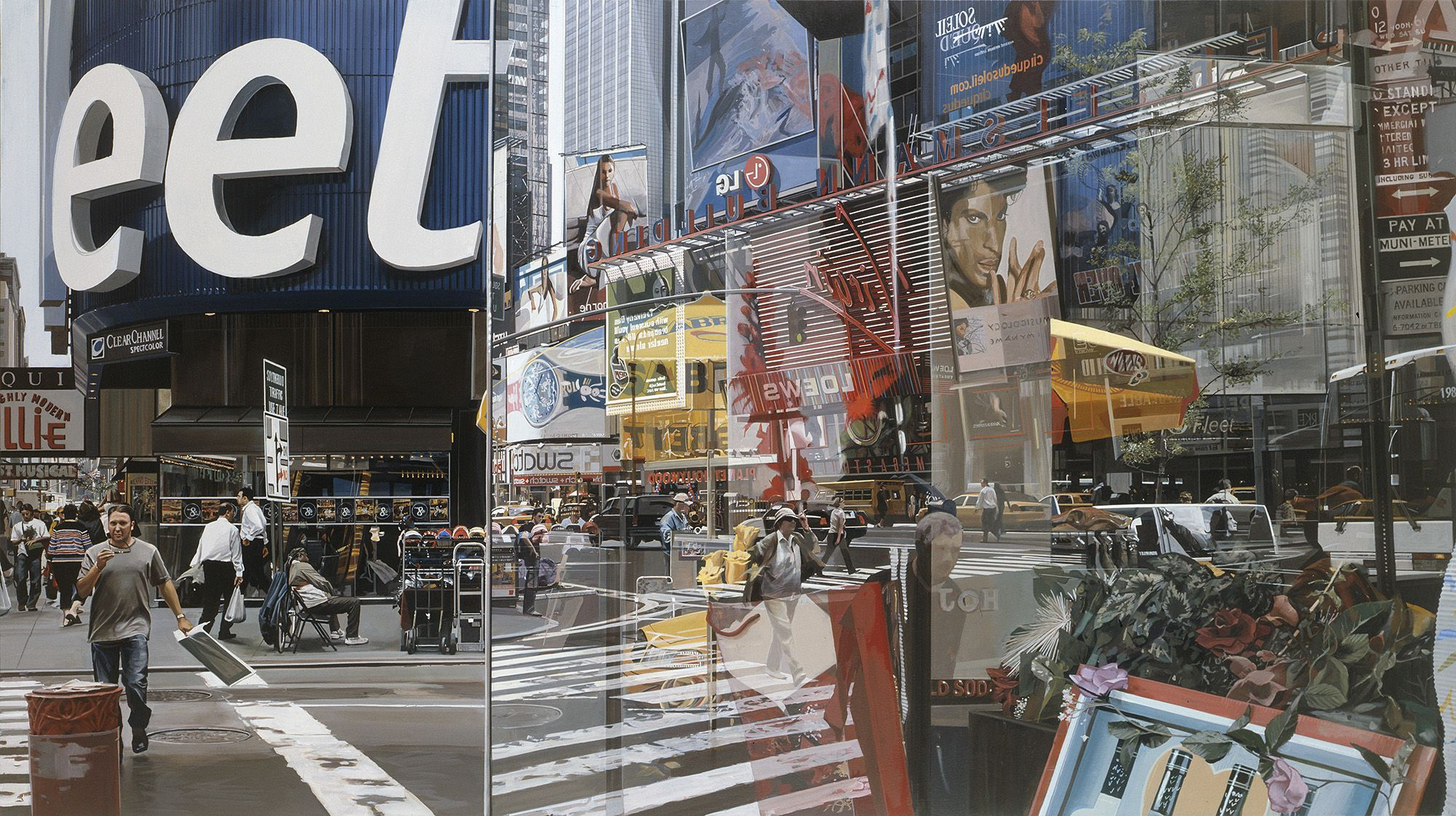Times Square Online Gallery Richard Estes Realism