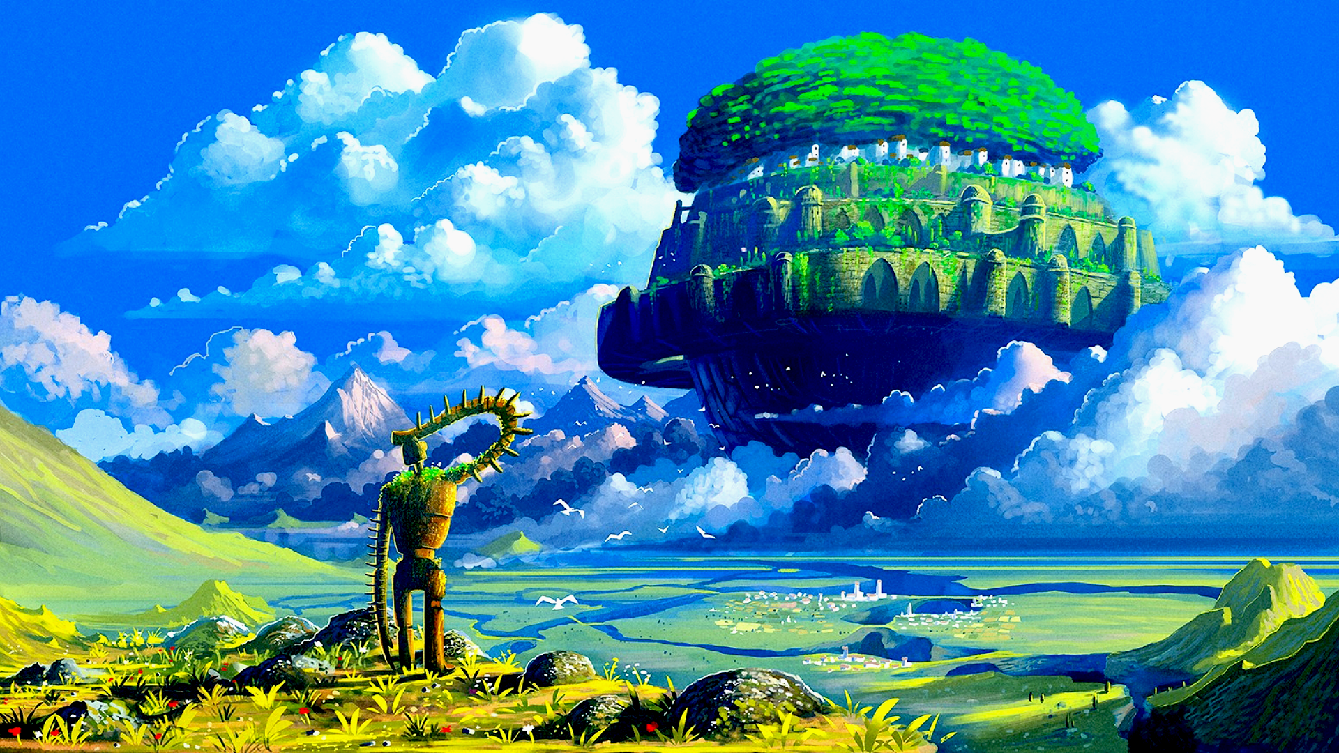 Laputa: Castle In The Sky [1920x1080]