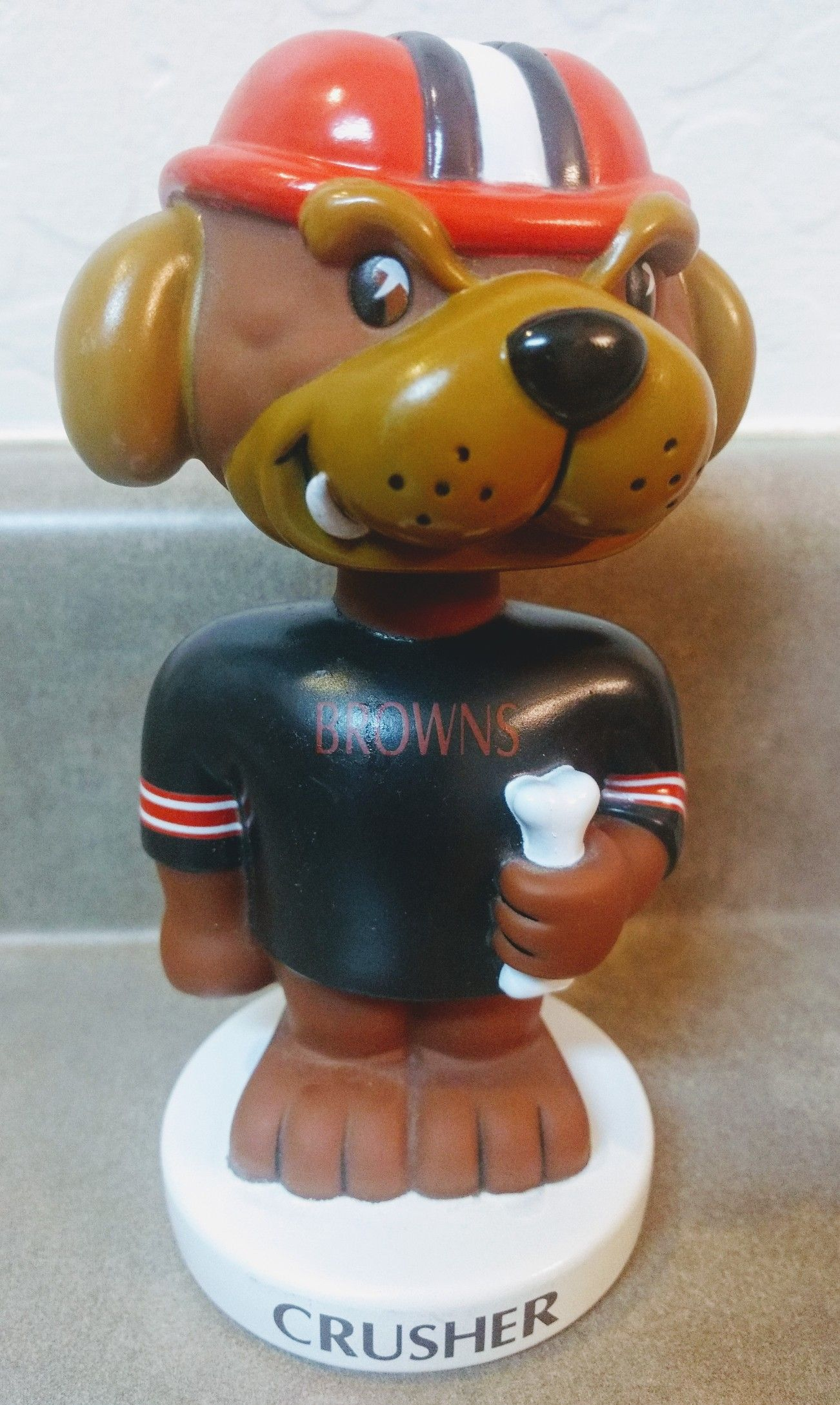 Cleveland Browns Crusher bobblehead Bobble head