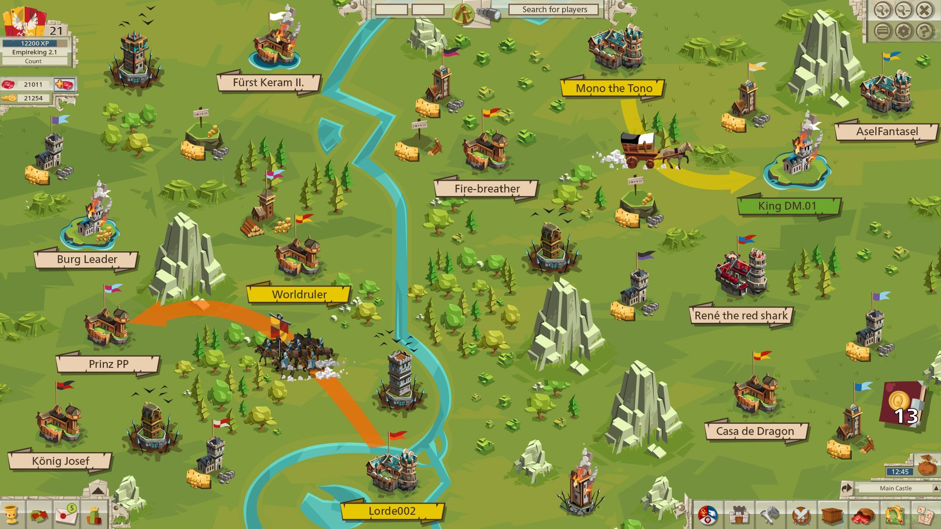 Empire by GoodGame - Free-to-Play MMO Strategy | GameSpace