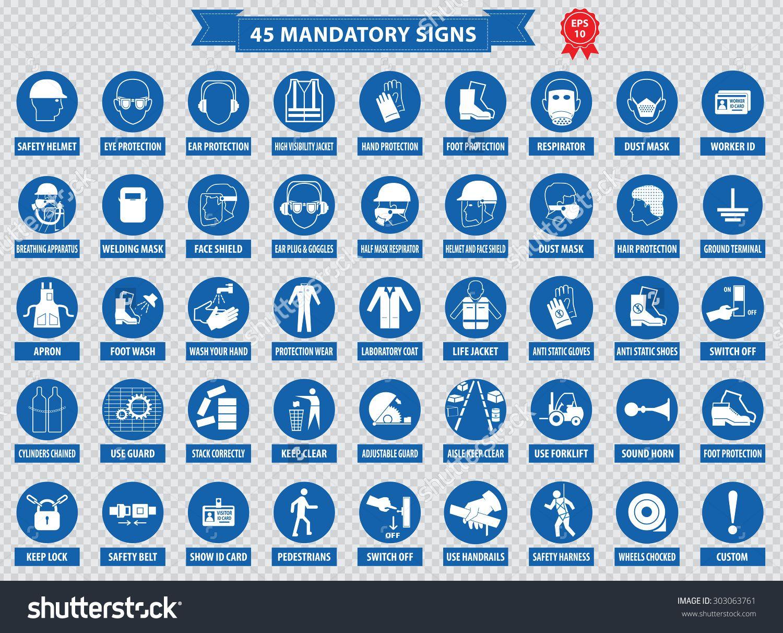 Saugaus darbo mandatorysignsconstructionhealthsafety
