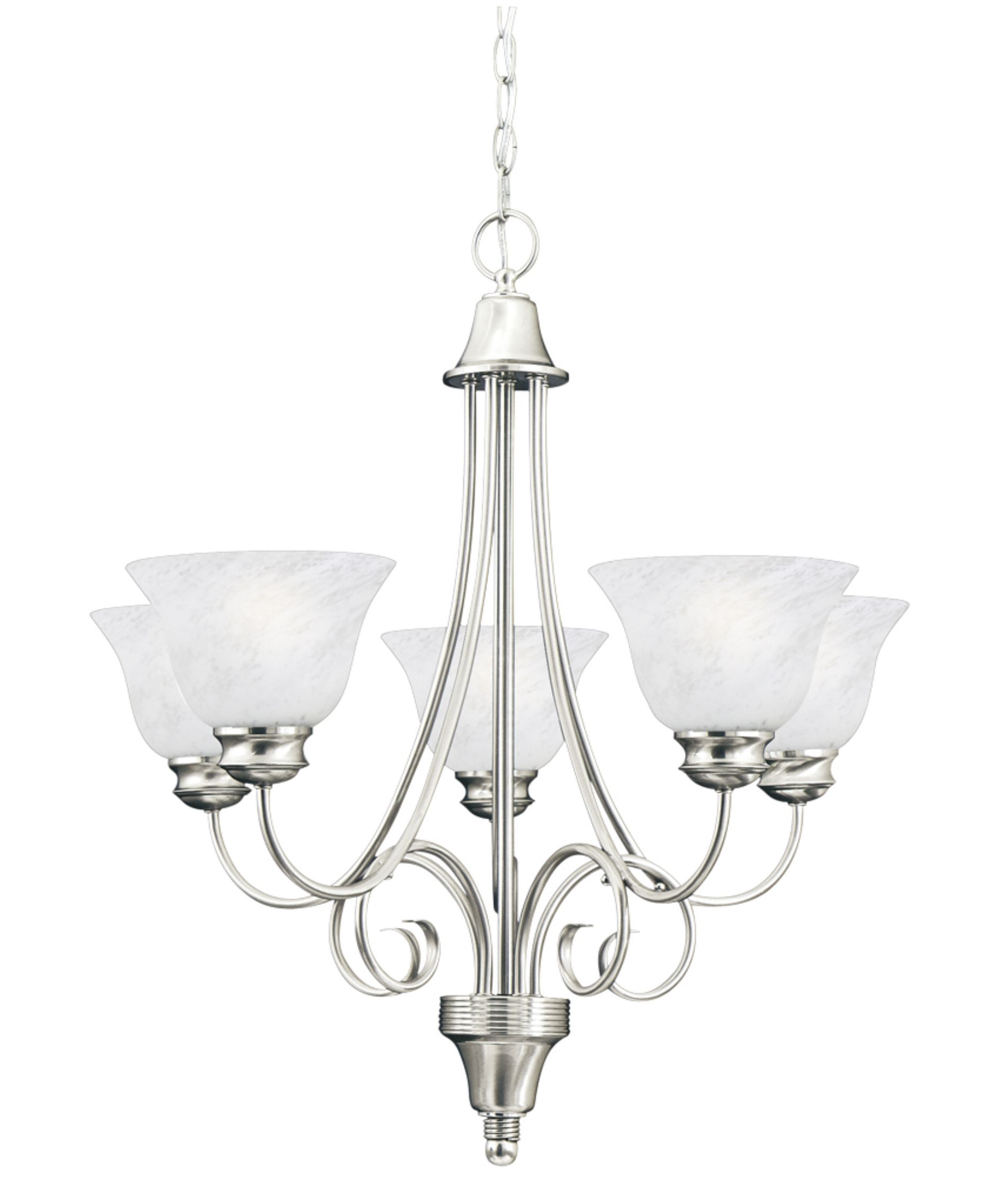 Brushed Nickle Dining Room Light Fixtures Hanging Brushed Nickel