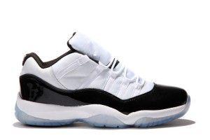 newest 3abd7 38858 Top Del Punto Bajo 2013 Jordan 11 Para Hombre Zapatillas Blanco Y Negro Del  Aire