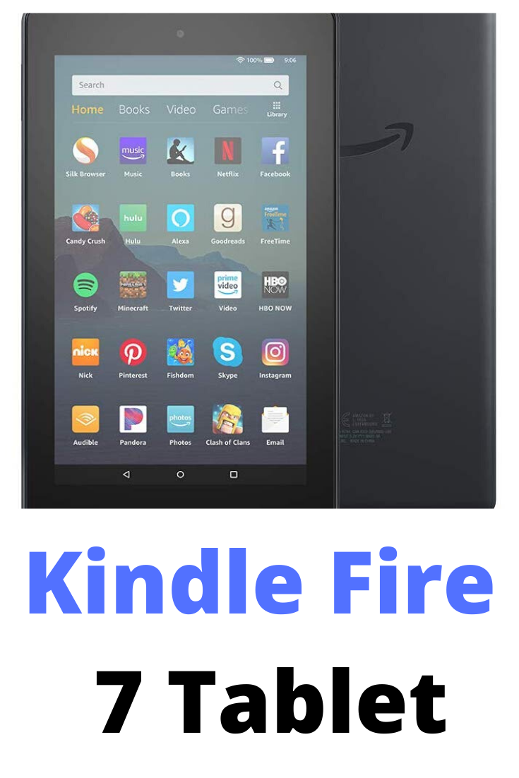 Kindle Fire 7 Tablet 7 Inch Display, 1.3 GHz 16 GB, Movies