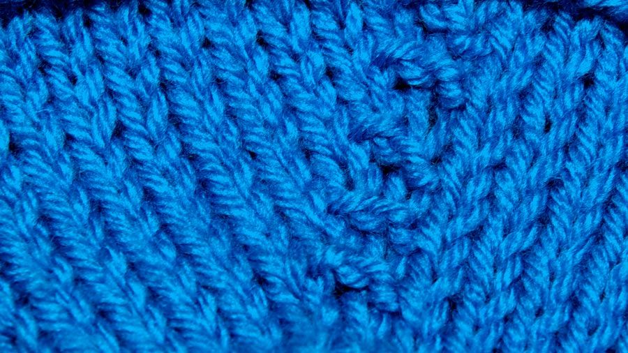 Purl One Front and Back Increase (PFB)