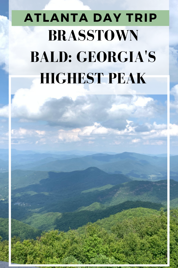 In this post I share my trip to the highest elevation in Georgia. Great for a day trip from Atlanta! #georgiamountains #exploregeorgia #thingstodoinatlanta