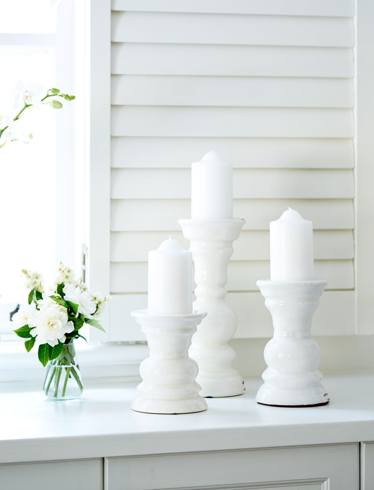 French Style Ceramic Candle Holders Wwwlavenderhillinteriorscomau