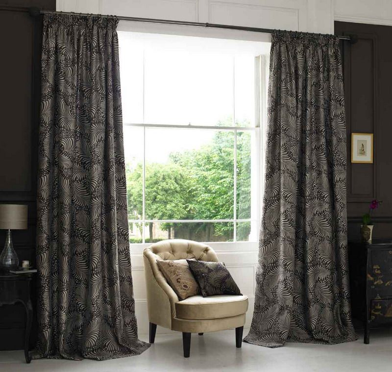Curtain Design For Modern House