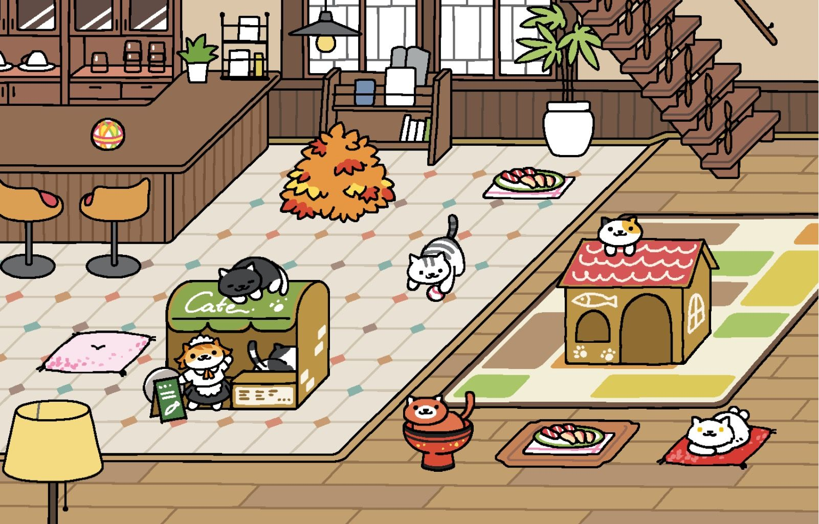 Pin by 레베카 체 on Neko Atsume Cafe Style Neko atsume, Cat