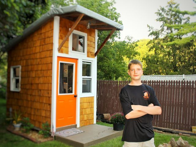 How A 13 Year Old Iowan Built His Own House For 1 500 And Why
