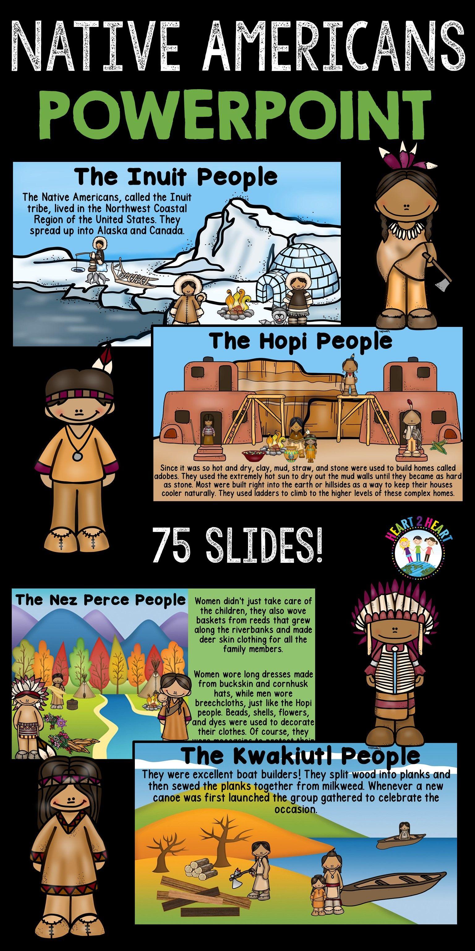 Native Americans Powerpoint Hopi Inuit Pawnee Seminole