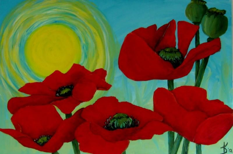 Resultado de imagen para urban paint flowers