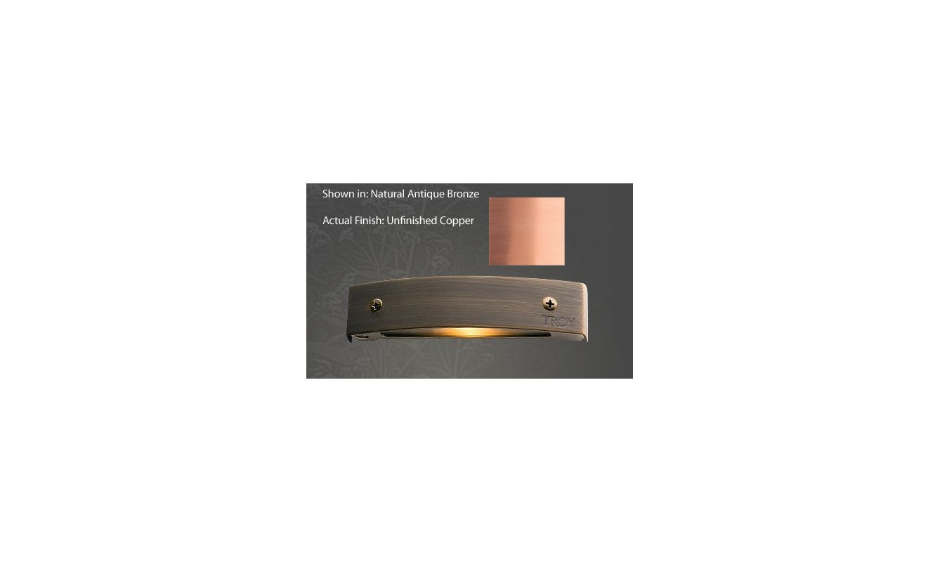 Troy Landscape R-P155C 12v Single Light 10 Watt Copper Material ...