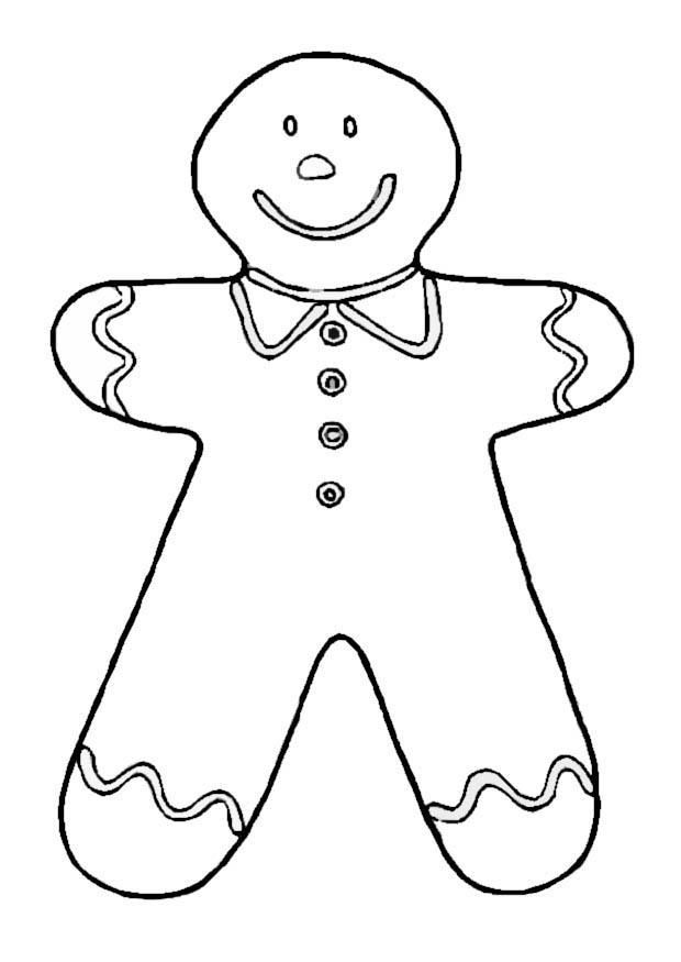 coloring-page-gingerbread-man-dl8667.jpg 620×875 pixels | CHILDREN ...