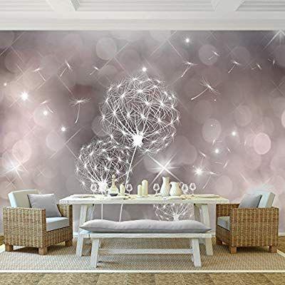 Fototapete Pusteblumen 352 x 250 cm Vlies Wand Tapete Wohnzimmer - moderne tapeten fr schlafzimmer