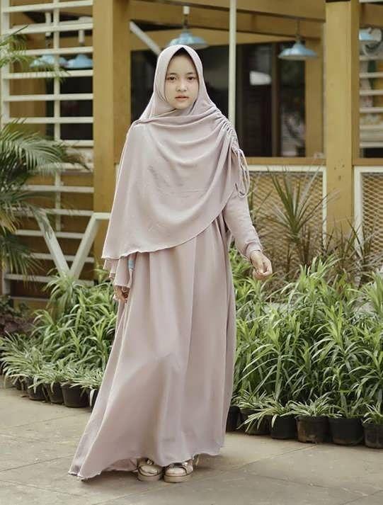 Model Baju Gamis Nissa Sabyan 2019