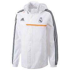 NEW  Adidas REAL MADRID All-Weather Windbreaker Jacket Track Top - Ebay cd90647574bee