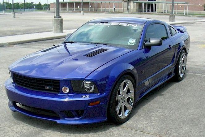 Sonic Blue 2005 Saleen S281 Sc Mustang Coupe Mustang Coupe Mustang 2005 Ford Mustang