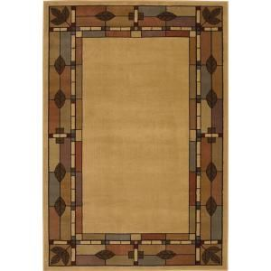 Shaw Living Morrison Natural 5 Ft 3 In X 7 Ft 7 In Area Rug