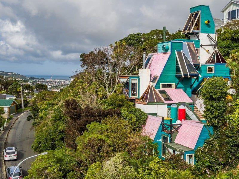 The Britten House By Roger Walker Karaka Bay Wellington Home