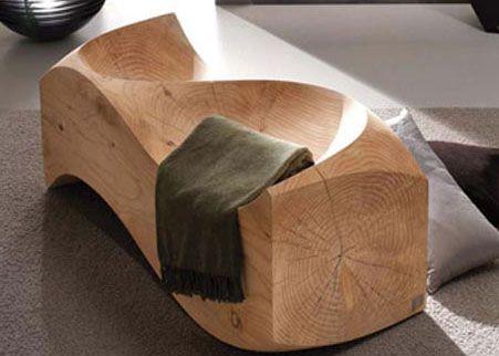 Love Seats Stoelen.Wooden Loveseat Mobilier De Salon Projets Bois