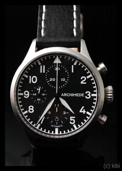 Archimede Pilot Chronograph