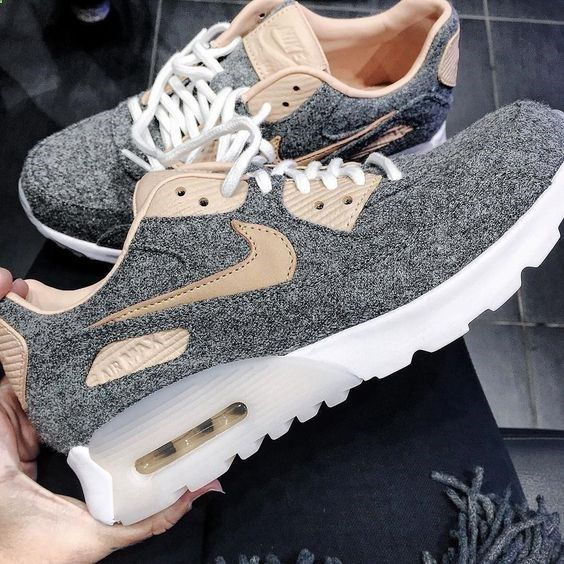 Sneakers women Nike Air Max 90 premium grey (© maryb ) styling