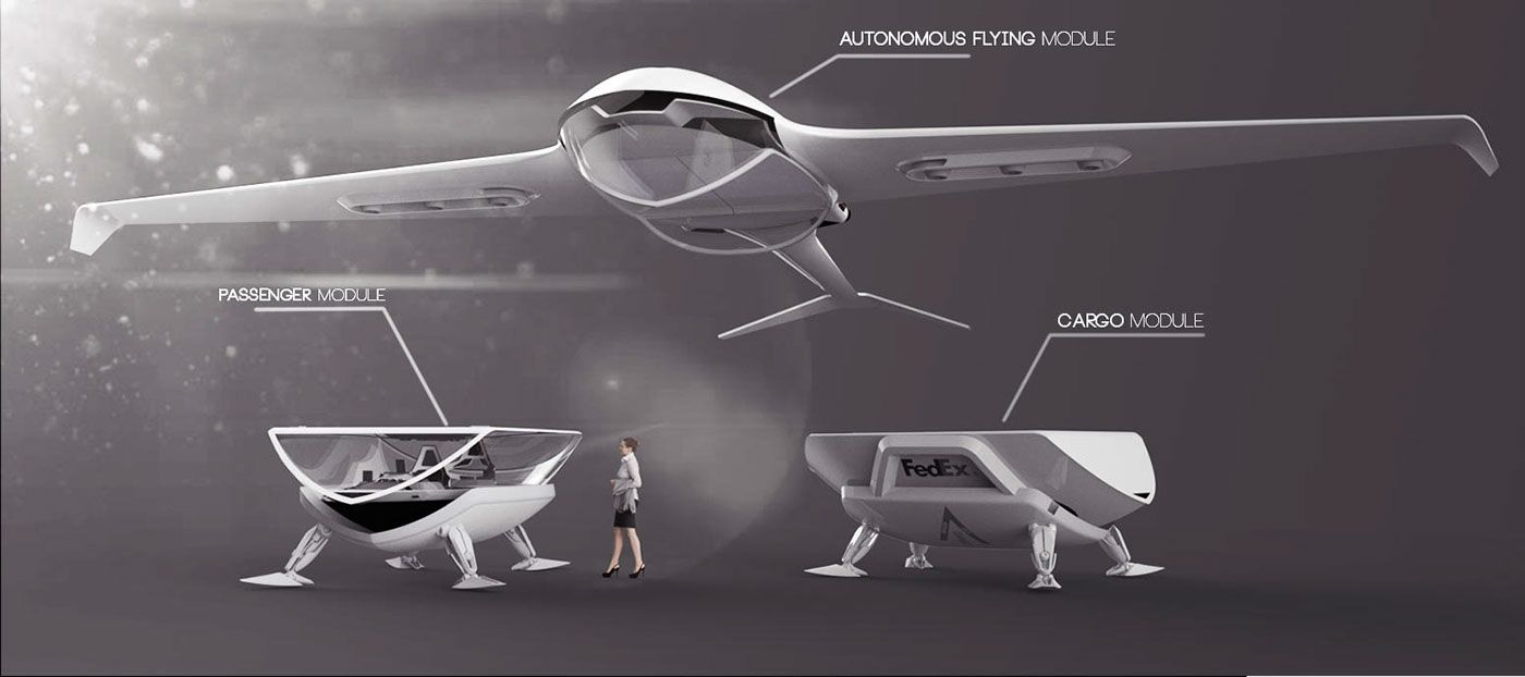 FedEx Drone concept on Behance