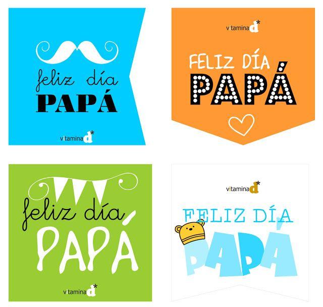 Etiquetas Imprimibles Para El Dia De Papa Feliz Dia Del Padre