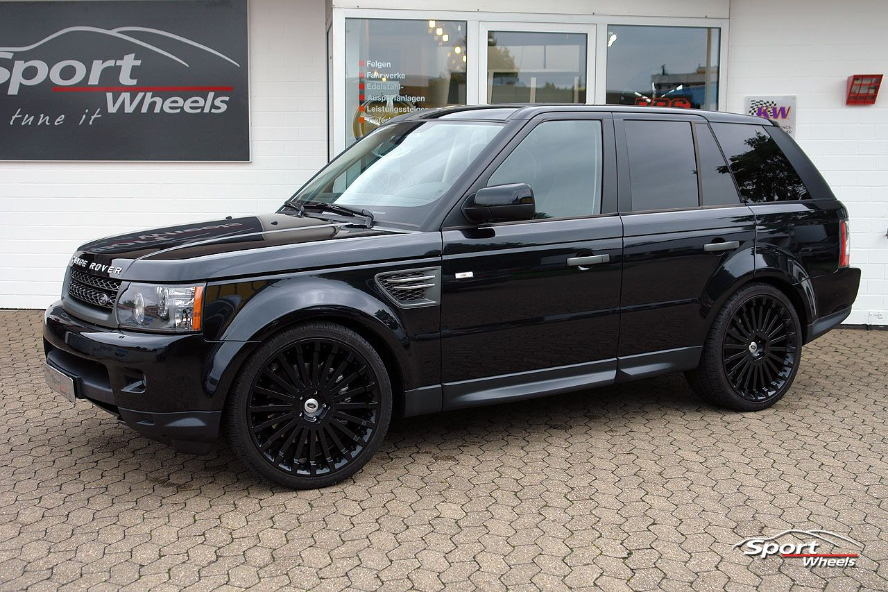 black style range rover. Black Bedroom Furniture Sets. Home Design Ideas