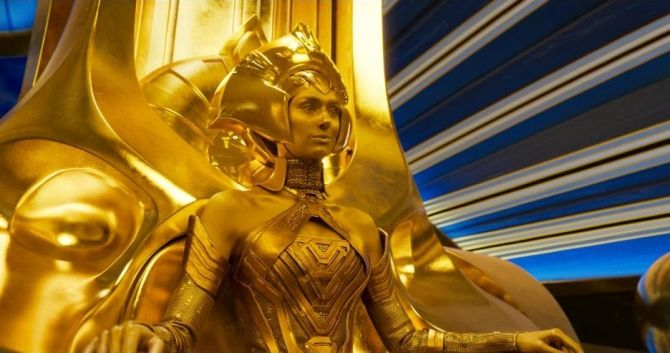 Guardians Of The Galaxy Vol 2 The Ayesha Transformation