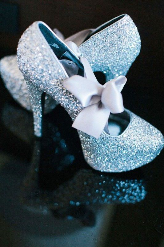 Something Blue Try These Sparkly Wedding Heels Gorgeous