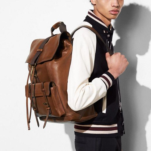 ed53b52c76 ... Backpacks and  innovative design 7e561 4f6aa Bleecker Backpack in  Leather - Alternate View A1 ...
