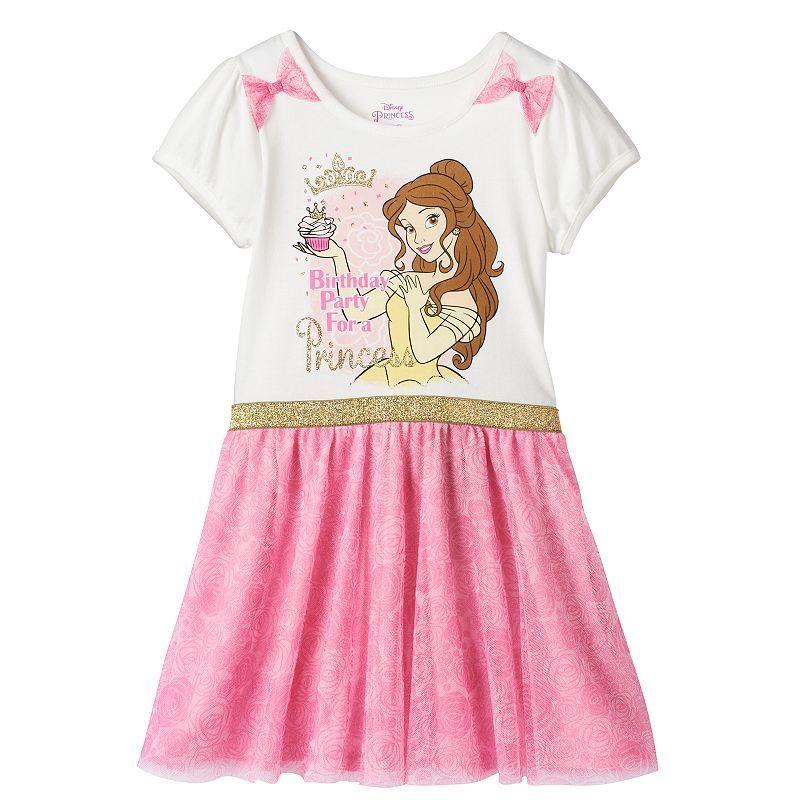 Disney Princess Belle Girls 4-6x \