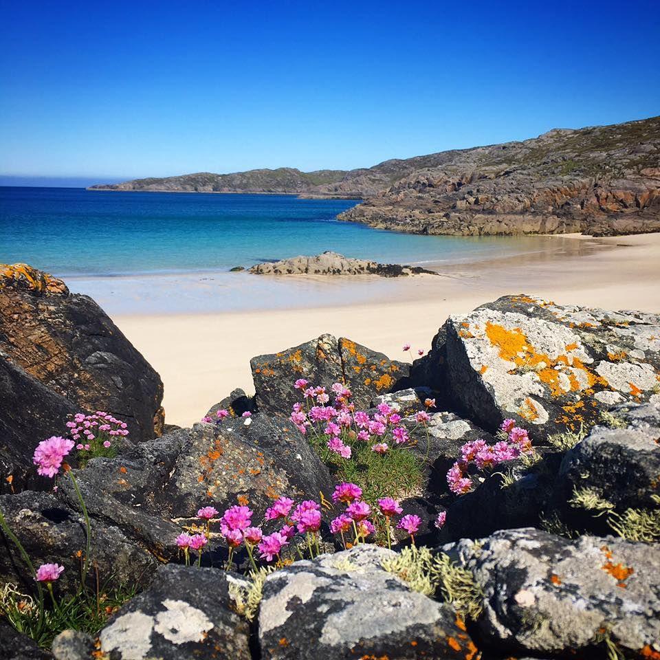 Travel Scenery: Achmelvich Beach In Scotland