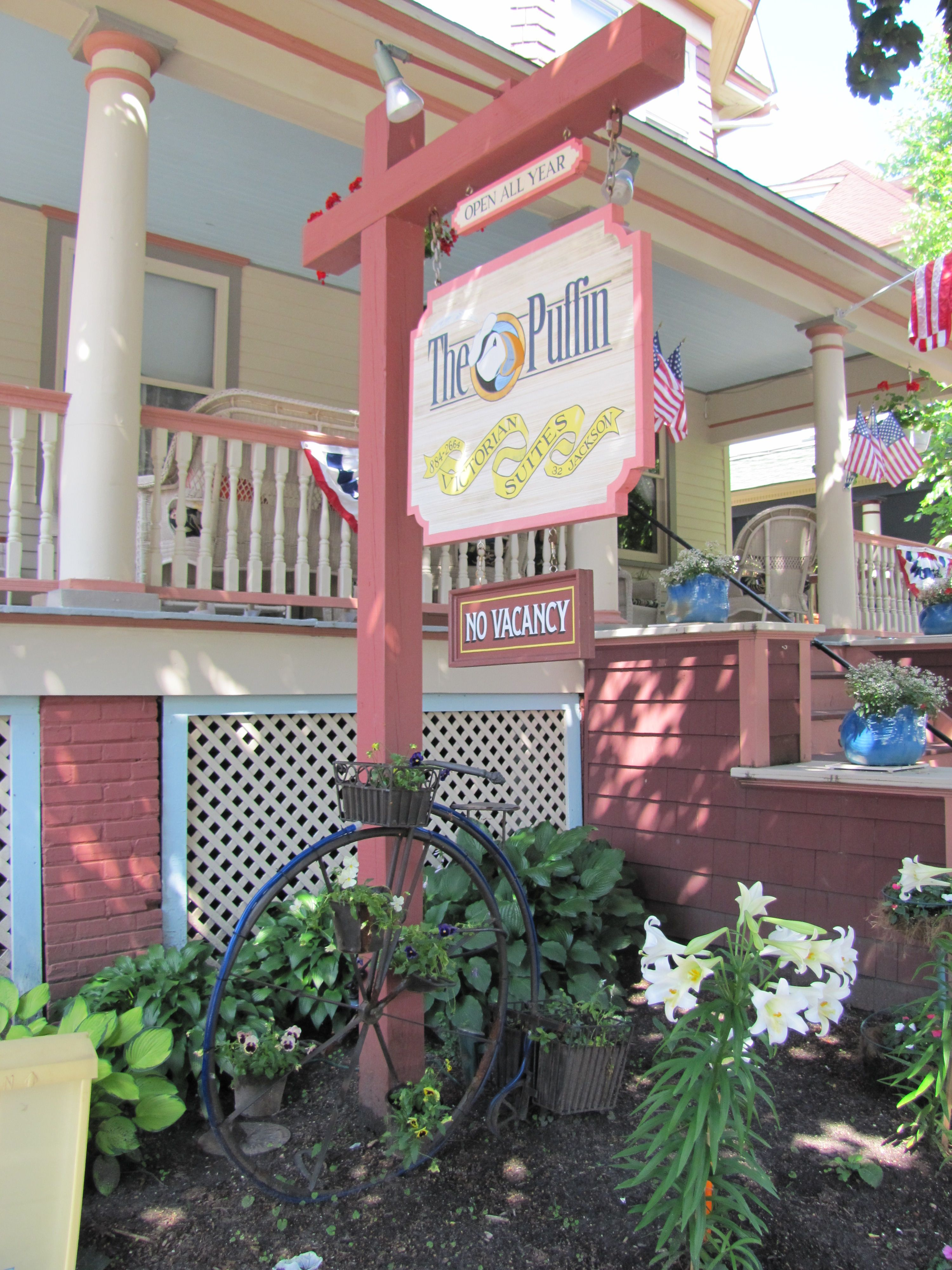 The Puffin bed and breakfast Cape May Cape may