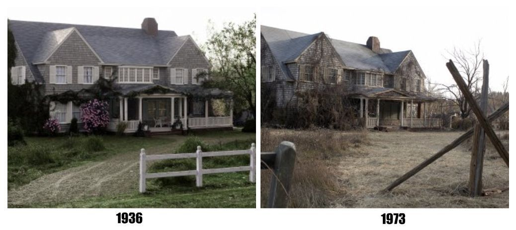 Grey Gardens House Before And After Big Edie Little Edie At Grey