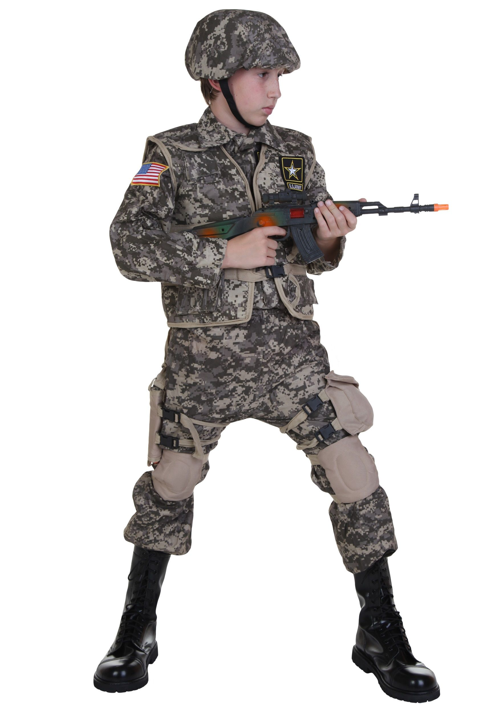 Kids Deluxe U.S. Army Ranger Costume | Dylan | Pinterest | Army ...