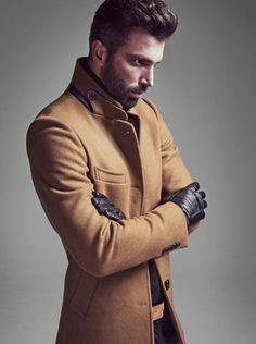 789ea1ebe6e2 Les tendances chez le manteau long homme en 48 photos!   Mode   Mens ...