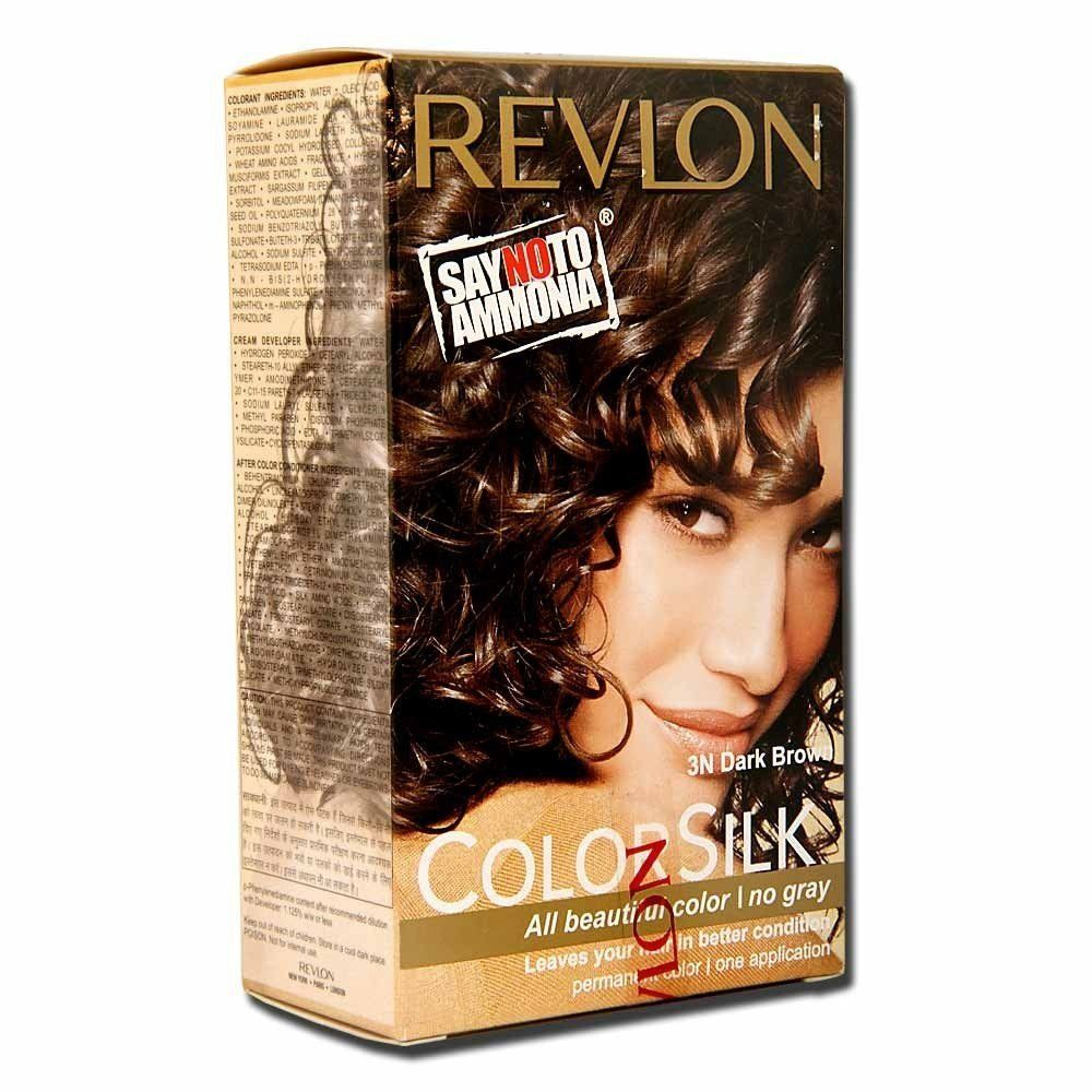 Revlon Colorsilk Hair Color Dark Brown