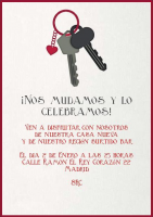 Invitaciones Para Inauguracion De Casa La Belle Carte
