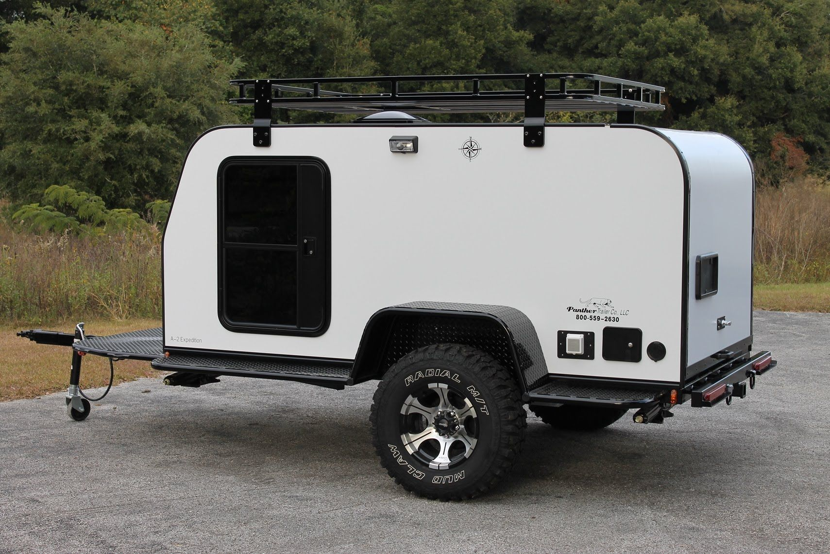 Panther A-2 Expedition Trailer 5x10 | Teartrop Trailer | Diy camper