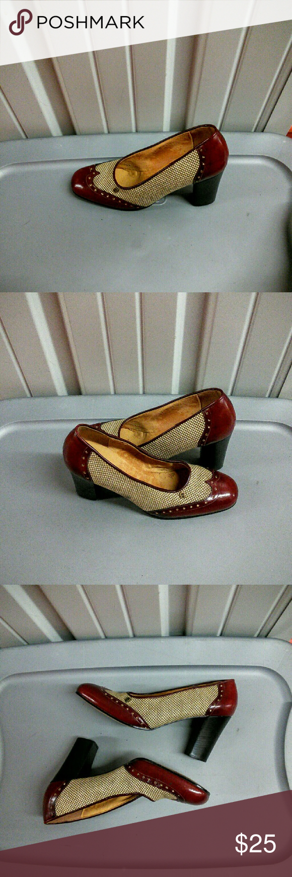 "Classic Etienne Aigner Pump Dear spots but not noticeable.3"" heel Etienne Aigner Shoes Heels"