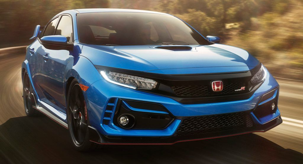 2020 Honda Civic Type R Arrives In America With Minor Styling And Suspension Tweaks In 2020 Honda Civic Type R Honda Type R Honda Civic