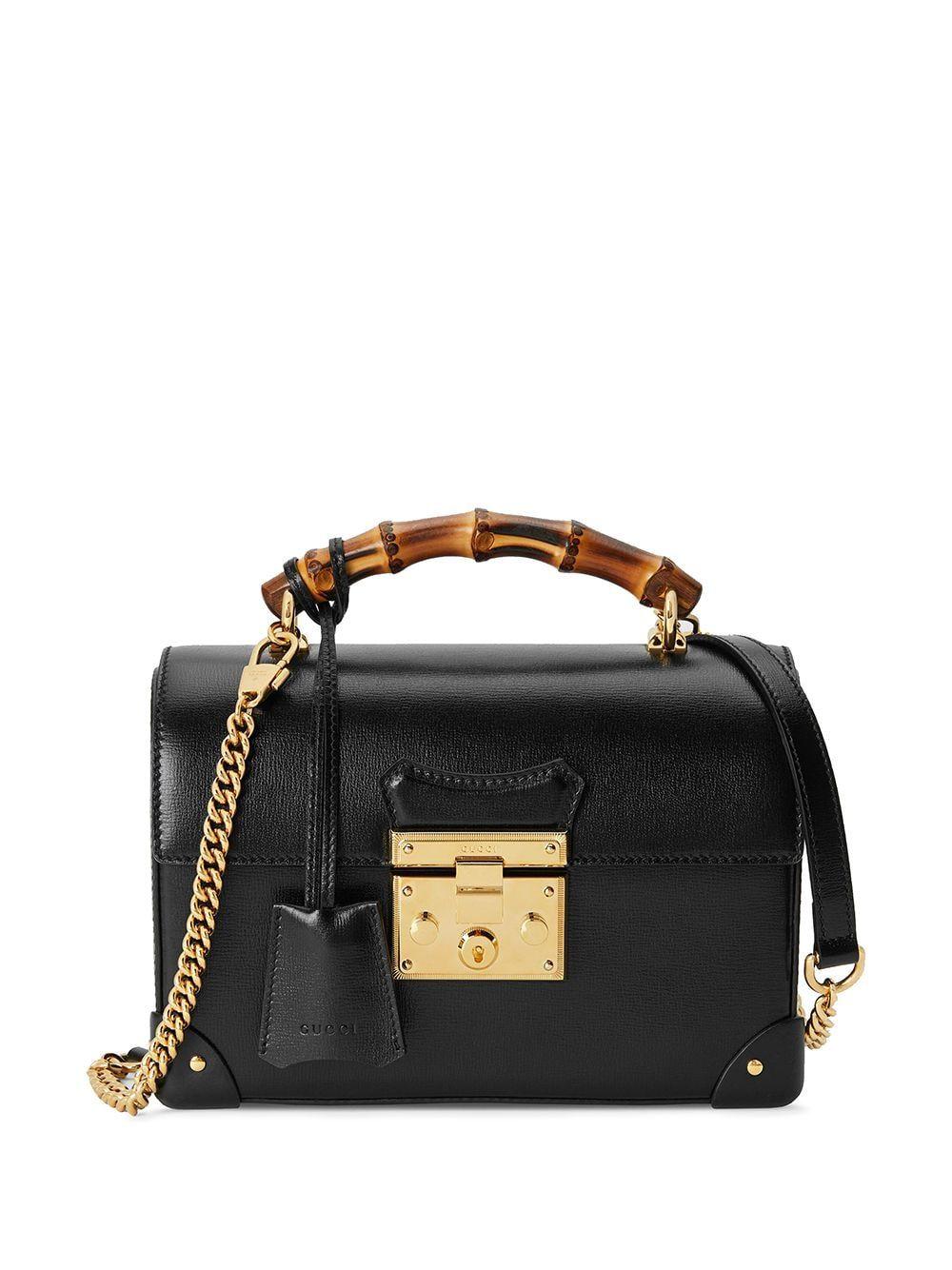 GUCCI SMALL PADLOCK SHOULDER BAG bags bags